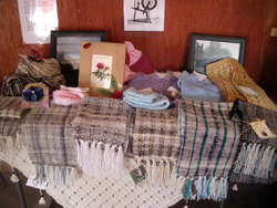 Table of Handcrafted Items