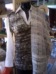 Handcrafted woolen clothes from Boyne Valley Wools